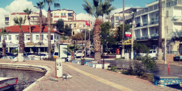 'Milas'ta kanalizasyon atıklarının denize boşaltılıyor'