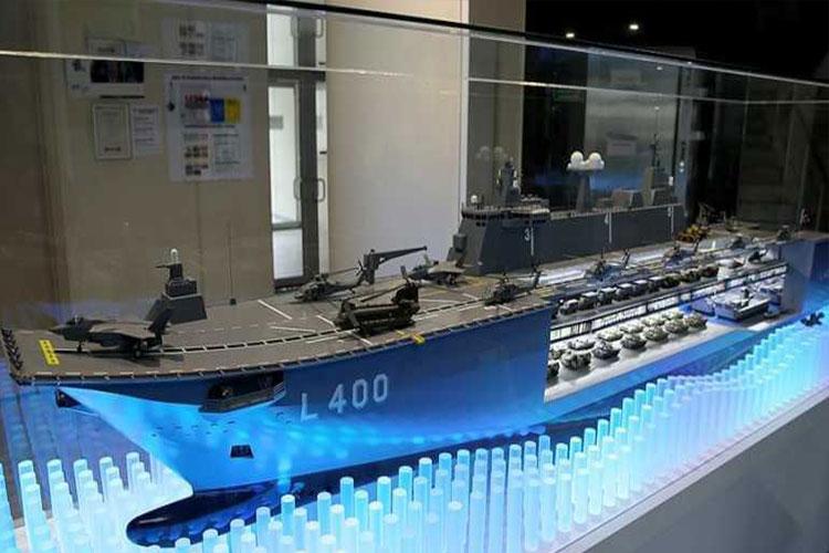 Türkiye'nin mini uçak gemisi neredeyse hazır