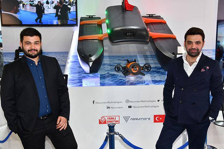 Ömer Berkay Dağlı (solda) ve Semih Ege