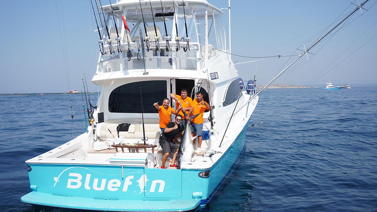 D-Marin'de balık heyecanı - Denizcilik Dergisi