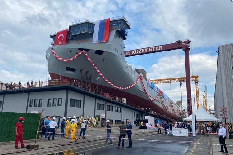 Турецкий судостроительный завод Kuzey Star Shipyard примет участие в выставке «НЕВА 2021»